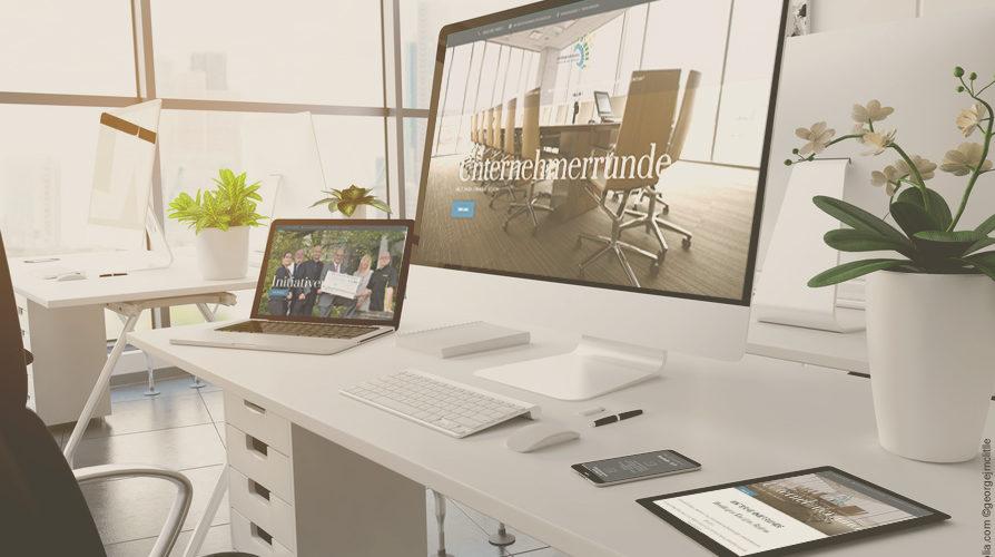 Neuer Webauftritt der Unternehmerrunde Reutlingen und Eningen