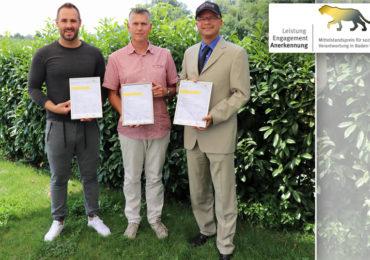 Wow - Mittelstandspreis Baden-Württemberg - gleich drei Mitglieder der Unternehmerrunde Reutlingen, Eningen erhalten Auszeichnung