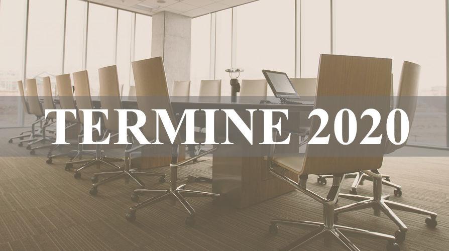 Unternehmerrunden Reutlingen und Eningen. Die Mitglieder-Termine 2020