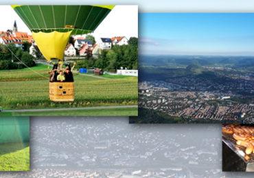 """Unternehmer in Reutlingen """"Heiße Luft""""... Ließ uns abheben."""
