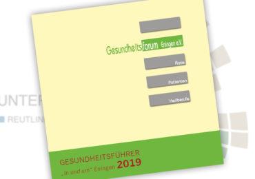 Mitglieder der Unternehmerrunde Reutlingen / Eningen im Gesundheitsführer