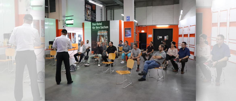 Event bei myStorage AG Reutlingen