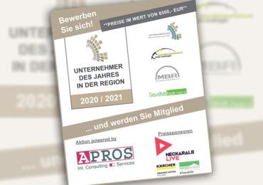 'Unternehmer des Jahres in der Region Reutlingen 2021'