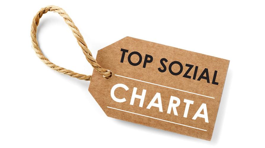 """Neugründung. Die """"TOP Sozial"""" Charta für soziales Engagement geht an den Start"""