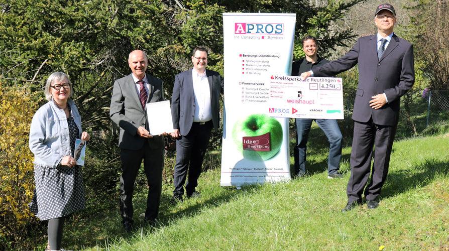 Weishaupt Reutlingen - Radiospot als Gewinner Unternehmer des Jahres für soziales Engagement
